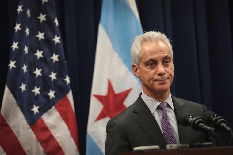 Image: Chicago Mayor Rahm Emmanuel