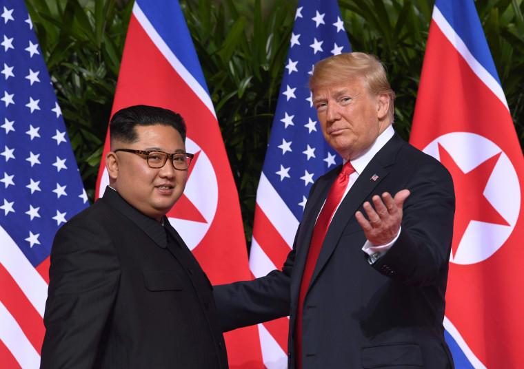 Image: North Korean leader Kim Jong Un and U.S. President Donald Trump
