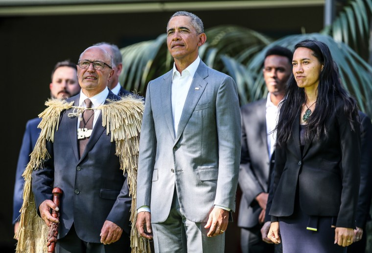 Image: Barack Obama Visits New Zealand