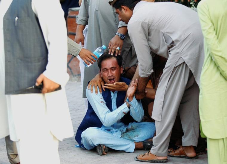 Image: Jalalabad city car bombing