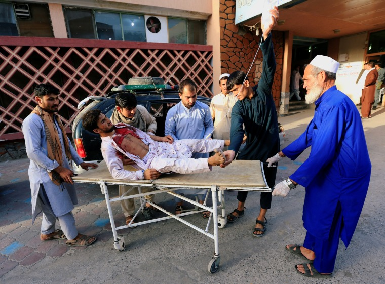 Image: Jalalabad city car bombing