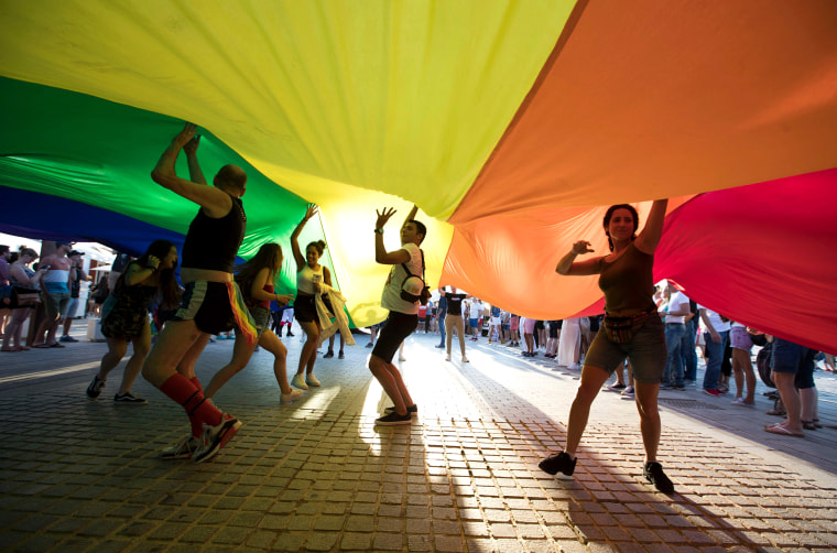 Image: SPAIN-GAY-PRIDE-PARADE