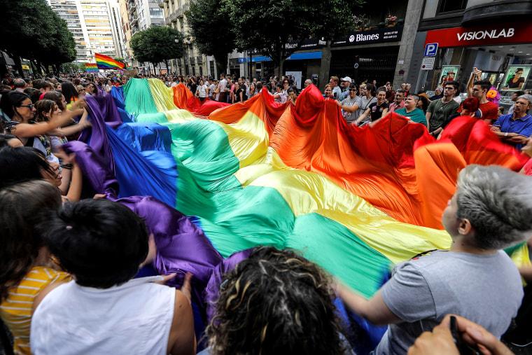 Image: Gay pride in Valencia
