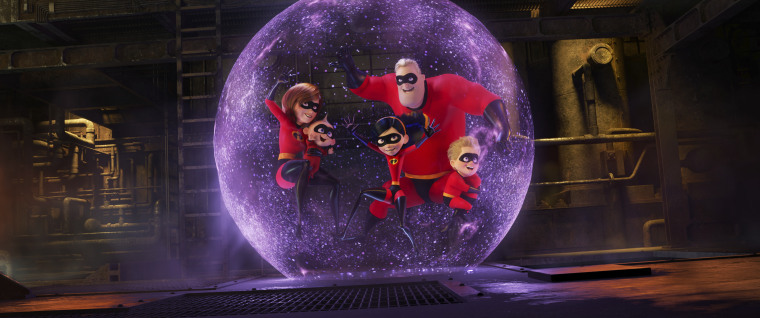 IMAGE: A scene from 'Incredibles 2'