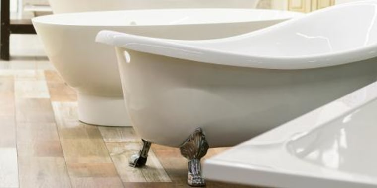 Bathtub renovations bathroom renovations bathtub remodel & Should you refinish reglaze or replace your bathtub?