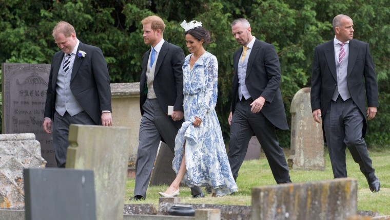 Duke and Duchess of Sussex, Meghan Markle, at wedding