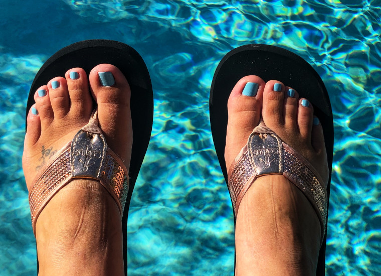 When I moved from Maryland to Florida two years ago, one of the things I was most excited about was the ability to wear flip-flops year round.