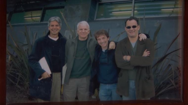 Walter Parks , Steve Martin, Martin Short and Tom Hanks