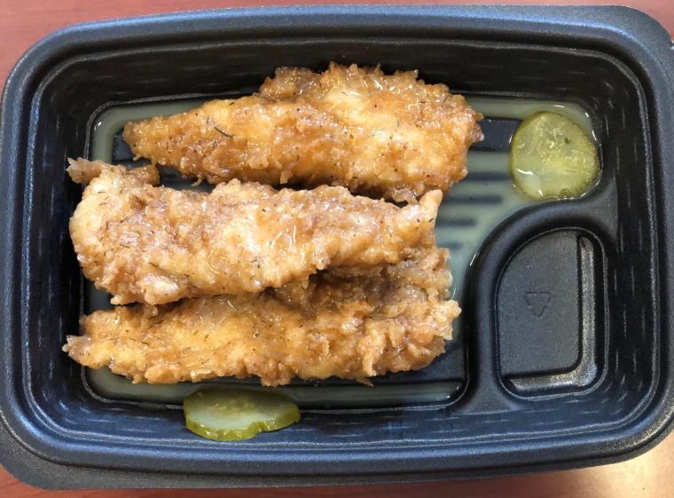 KFC's Pickle Fried Chicken Tenders
