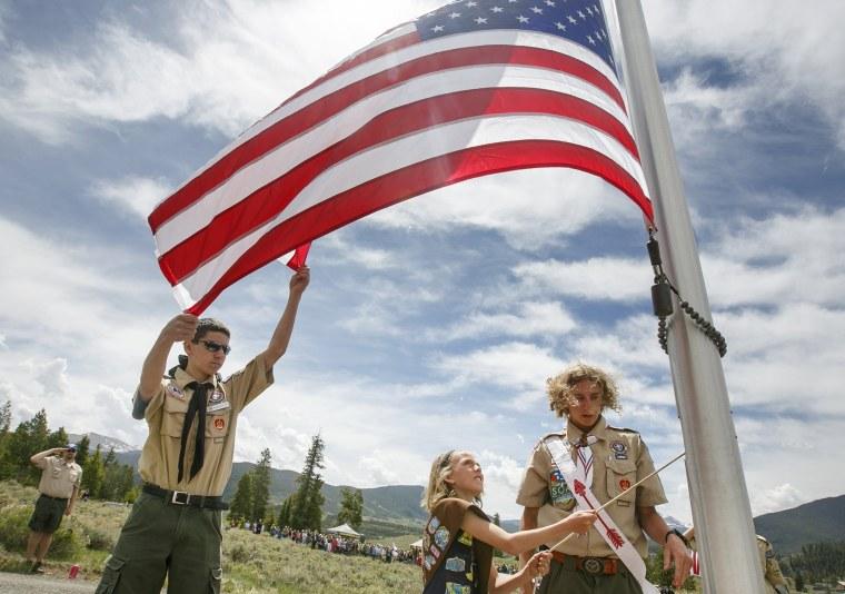 Flag Care, Boy Scouts, Patriotism