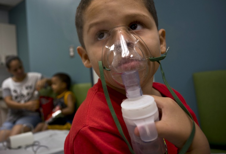 Image: Puerto Rico Asthma cases