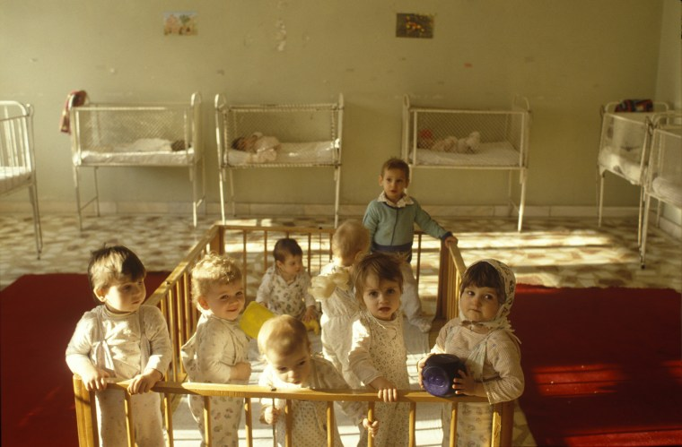 Image: Romanian Orphans