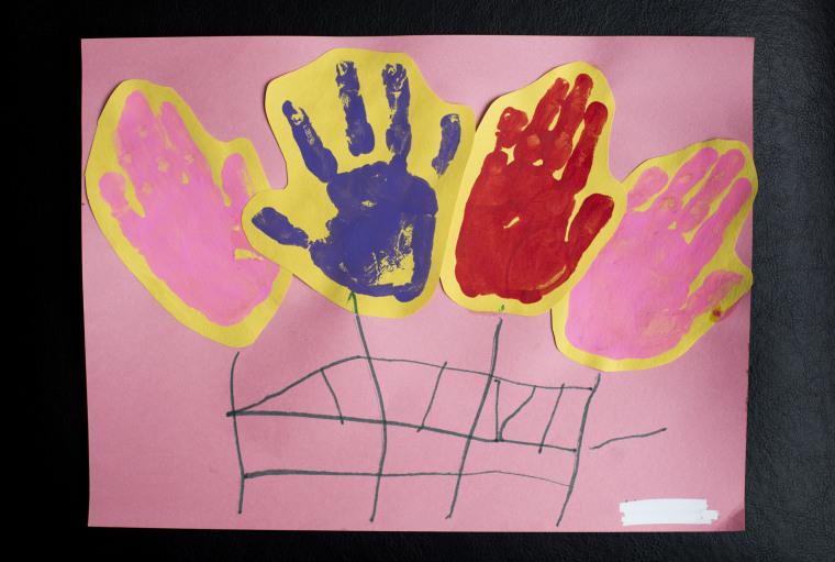 Image: Artwork by unaccompanied migrant children