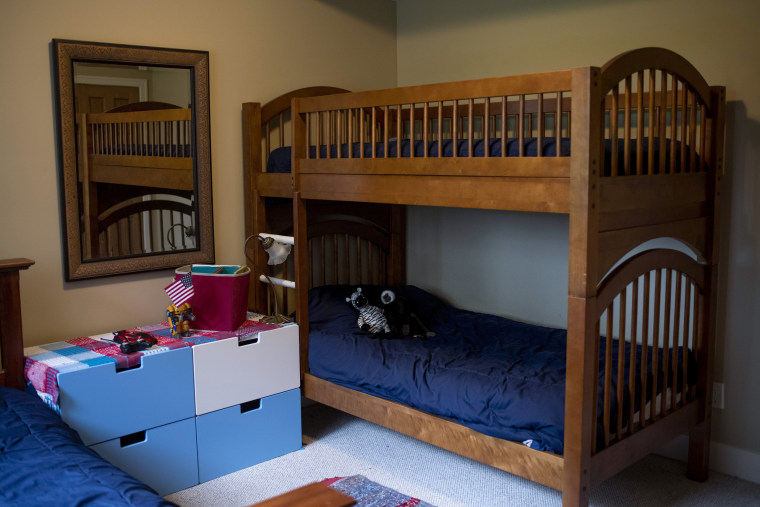 Image: A child's bedroom in Christine's house