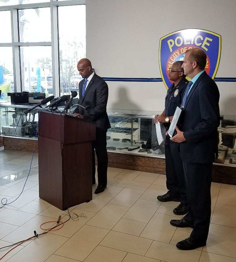 "Gaines said ""this case has been immensely difficult to work"" at the Wednesday press conference."