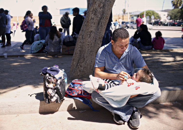 Image: Undocumented Migrants Await Asylum Hearings in Tijuana