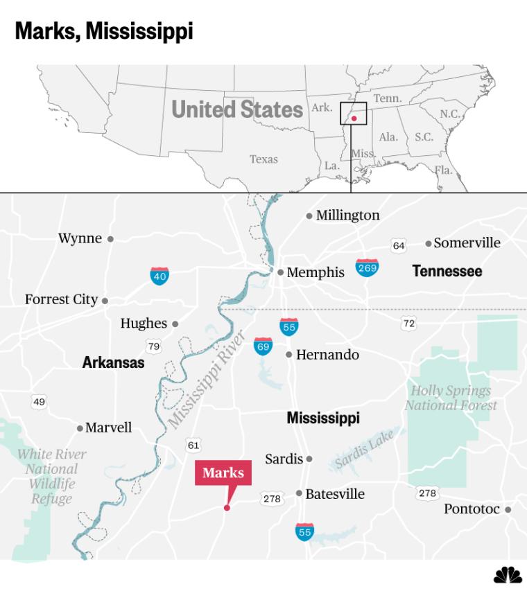 Marks, Mississippi