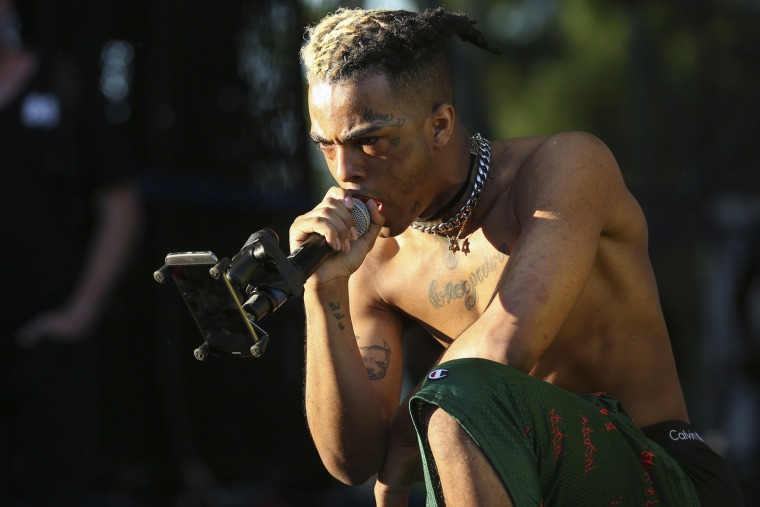 Image result for XXXTentacion's demise and funeral spotlight hip-hop's complex relationship with violence and talent