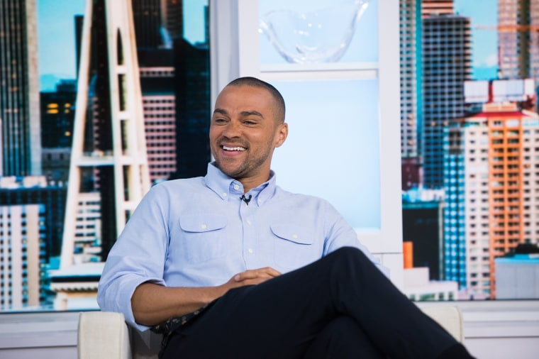 Image: Jesse Williams on the Today Show, March 17, 2017.