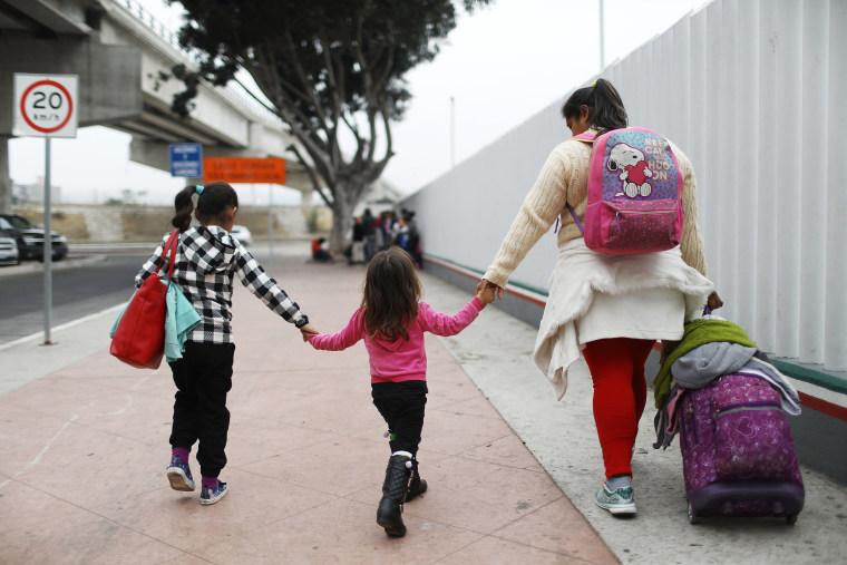 """Image: President Trump's \""""Zero Tolerance\"""" Mexico Border Policy Stirs Controversy And Confusion"""