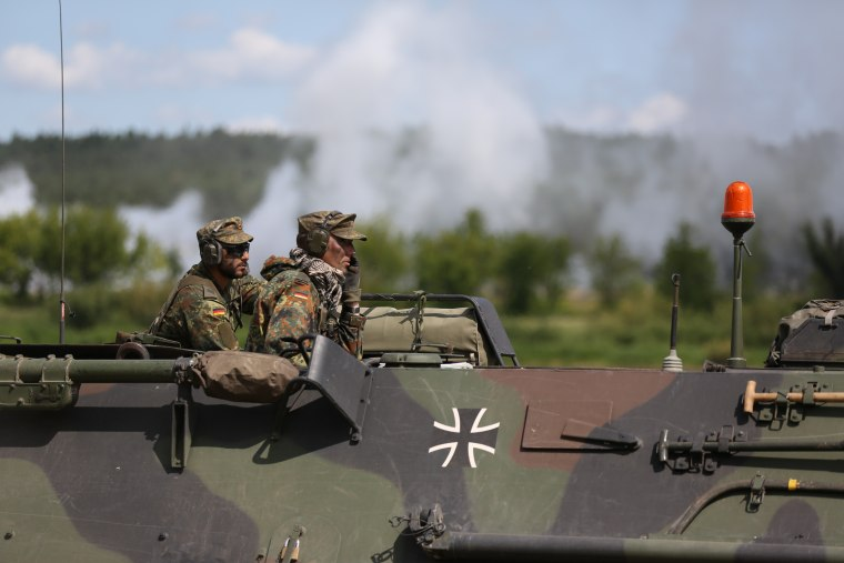 Image: German military in Lithuania
