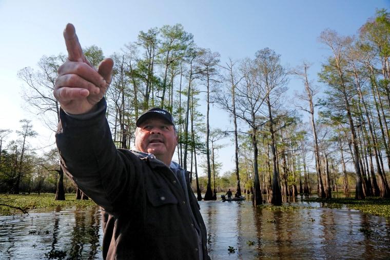 Image: Jody Meche, president of the Louisiana Crawfish Producers Association