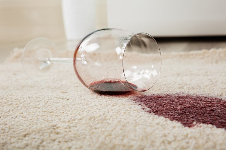 Image: Red Wine Spilled On Carpet