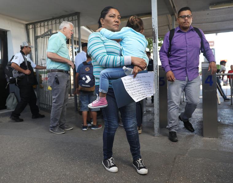 """Image: President Trump's """"Zero Tolerance"""" Mexico Border Policy Stirs Controversy And Confusion"""