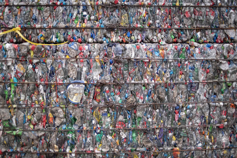 Image: Plastic waste in China