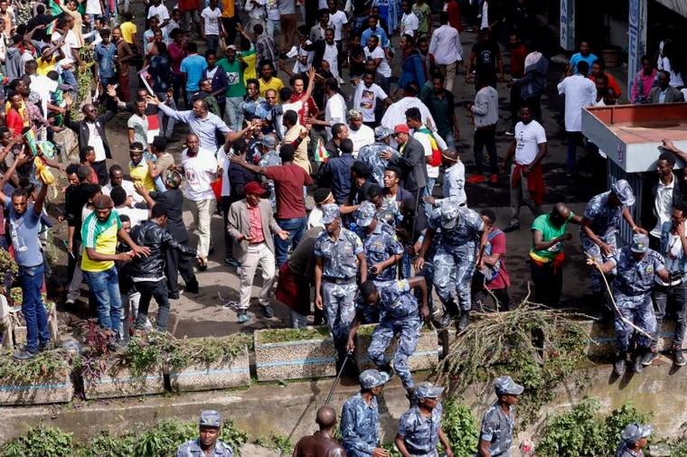Image: Ethiopia rally blast