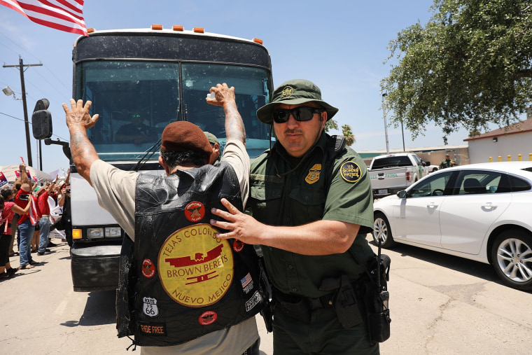 Image: McAllen Texas immigration protest