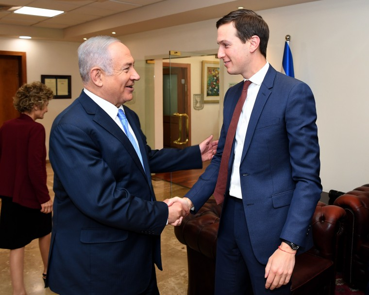 Image: Jared Kushner in Israel