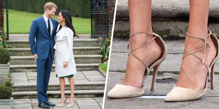 Have you noticed that Duchess Meghan often wears oversized heels?