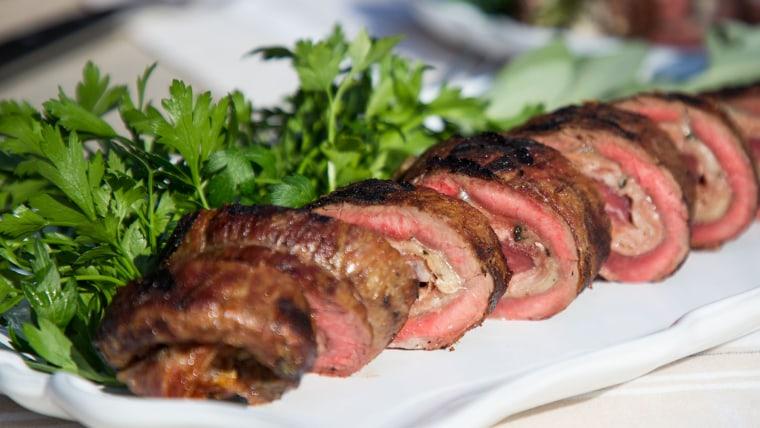 Mark Bittman's Stuffed Flank Steak