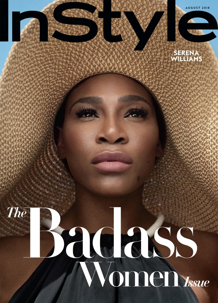 Serena Williams on the cover of InStyle's First Badass Women Issue