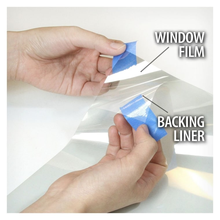 BDF S8MC Window Film Security and Safety Clear 8 Mil (24in X 12ft)
