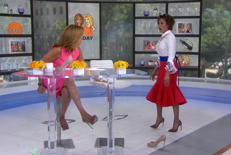 Hoda's tip for making heels more comfortable