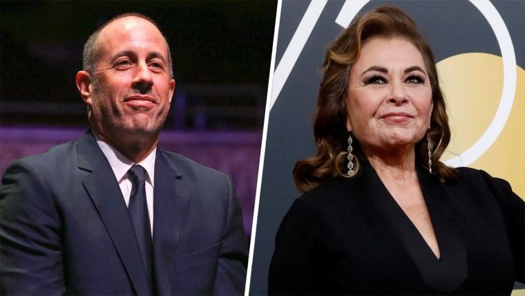 Jerry Seinfeld, Roseanne Barr, Roseanne