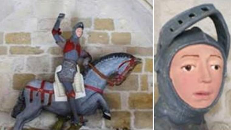 Botched art restoration after
