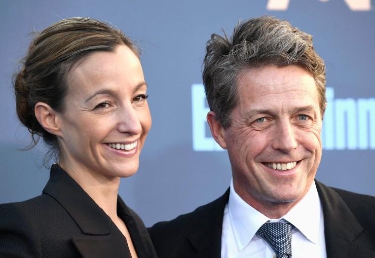 Hugh Grant Marries Longtime Girlfriend Anna Eberstein