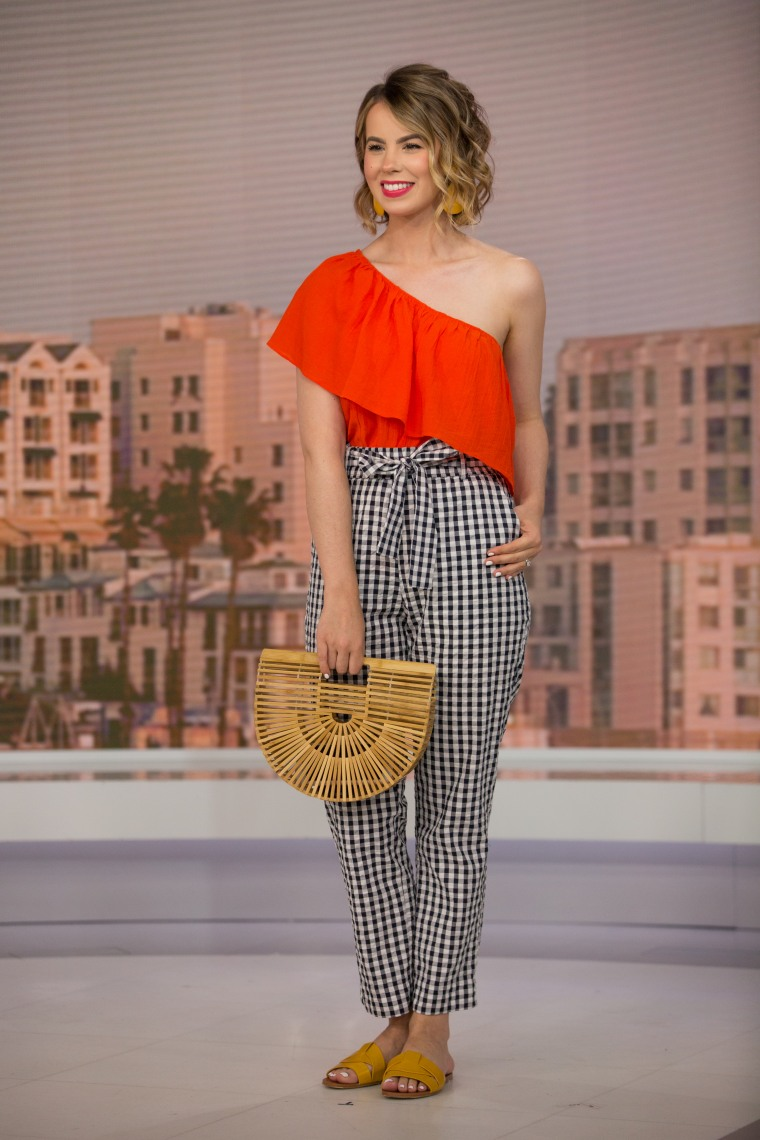 Gingham print summer fashion trend