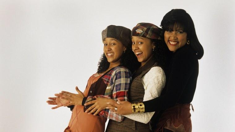 """Sister, Sister"" stars Tamera Mowry, Tia Mowry and Jackee Harry"