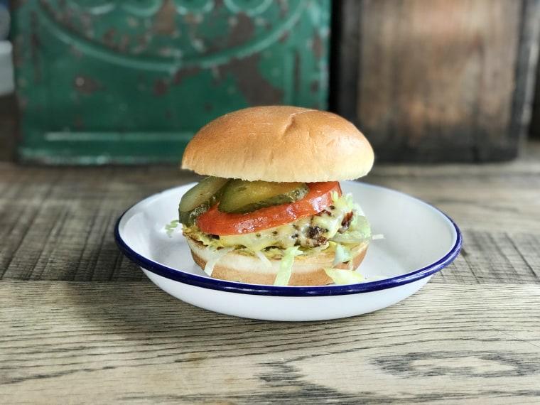 The Dirty Burger from Soho Beach House