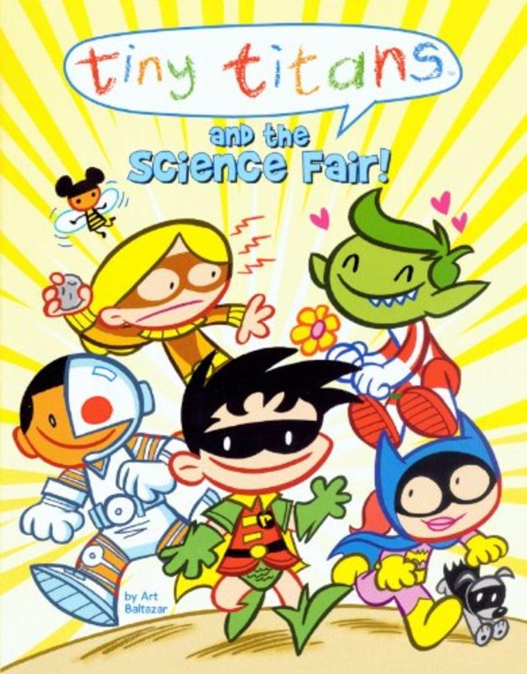 """""""Tiny Titans and the Science Fair"""" by Art Baltazar"""
