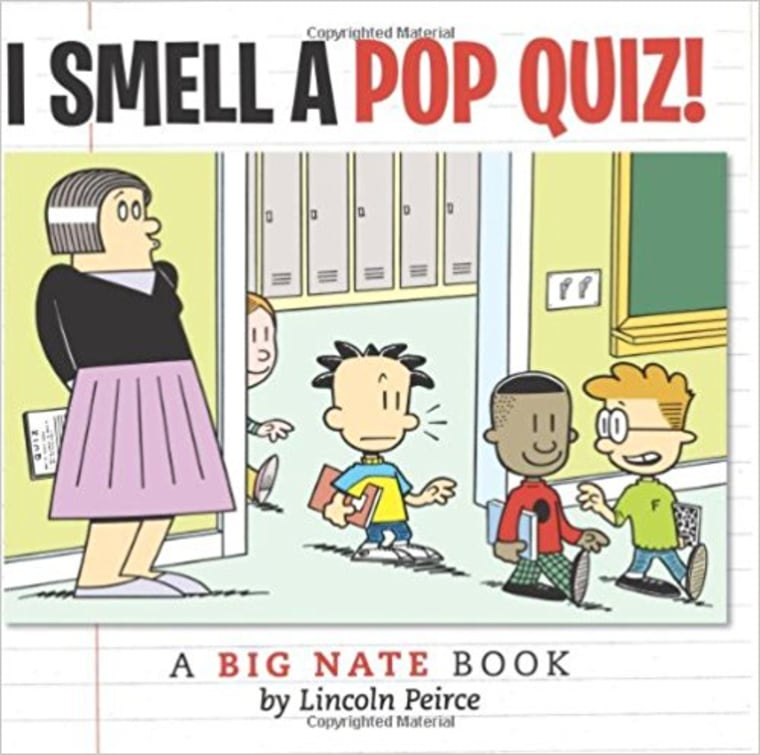 """""""I Smell a Pop Quiz!: A Big Nate Book"""" by Lincoln Peirce"""