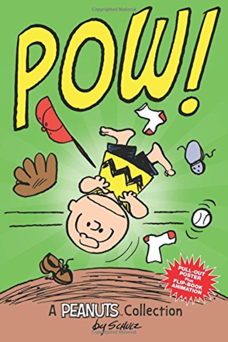 """""""Charlie Brown: POW!"""" by Charles M. Schulz"""