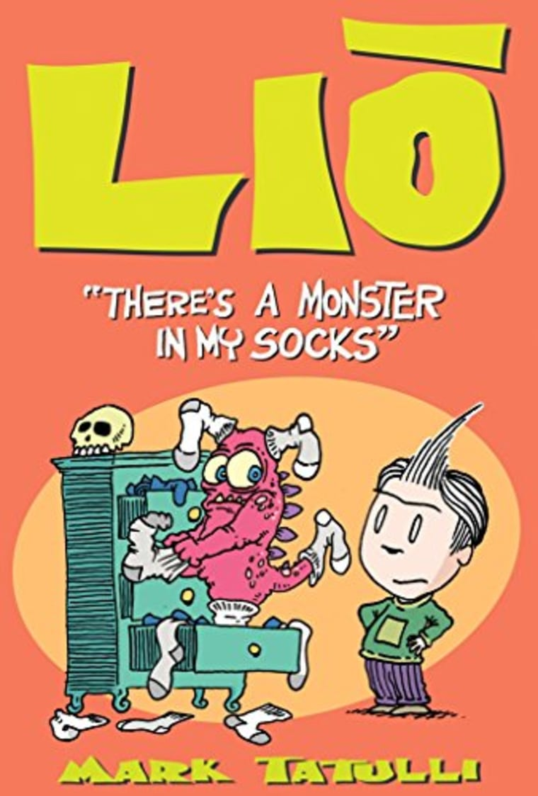 """""""Lio: There's a Monster in My Socks"""" by Mark Tatulli"""