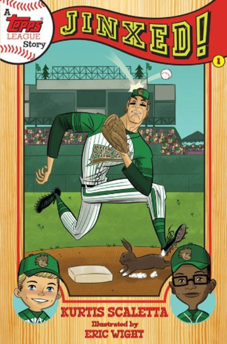 """""""A Topps League Story: Book One: Jinxed!"""" by Kurtis Scaletta"""