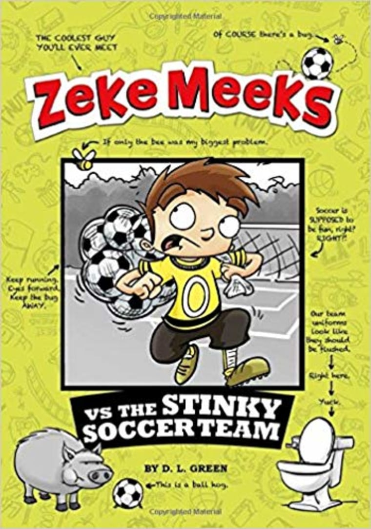 """Zeke Meeks vs the Stinky Soccer Team"" by D.L. Green"