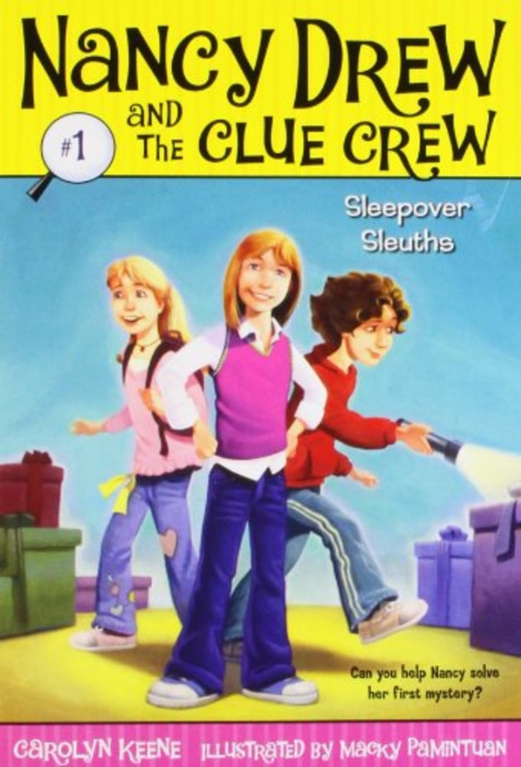 """""""Sleepover Sleuths (Nancy Drew and the Clue Crew Book 1)"""" by Carolyn Keene"""